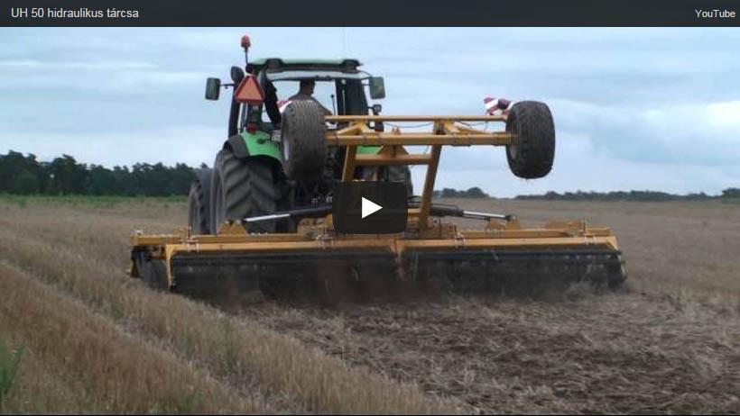 Staltech UH 50 hidraulikus tárcsa videó